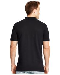 Polo Ralph Lauren   Black Nautical-crest Mesh Polo Shirt for Men   Lyst