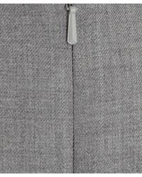 Paul Smith Black Label Gray Light Grey Fitted Work Dress