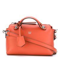 Fendi Red Mini 'by The Way' Crossbody Bag