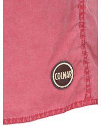 Colmar Pink Cotton & Nylon Blend Swimming Shorts for men