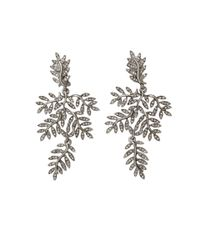 Oscar de la Renta | Metallic Vine Clip Earrings | Lyst