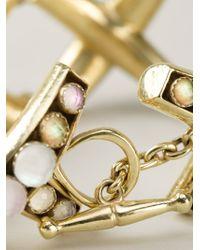 Vaubel - Multicolor Round Stone Bracelet - Lyst