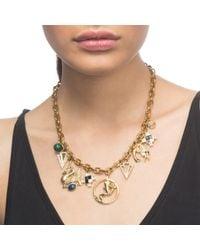 Lulu Frost - Metallic Allegory Charm Necklace - Lyst
