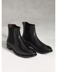 John Varvatos - Black Fleetwood Dress Chelsea for Men - Lyst