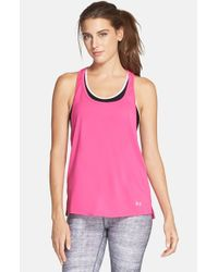Under Armour | Pink Alpha Mesh Top | Lyst
