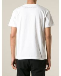 Yang Li White Text-Print T-Shirt for men
