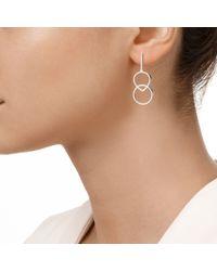 Monica Vinader | Metallic Diva Kiss Open Cocktail Earrings | Lyst