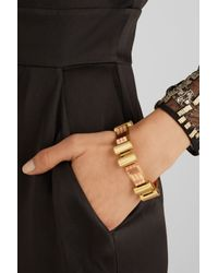 Olivia Collings - Metallic 1940S 18-Karat Gold Bracelet - Lyst