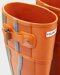 HUNTER | Blue Men's Original Seismic Shift Wellington Boots for Men | Lyst