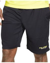 Polo Ralph Lauren Black Polo Sport All-sport Athletic Shorts for men