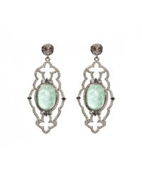 Armenta | Metallic New World Multi-gemstone Scalloped Drop Earrings | Lyst
