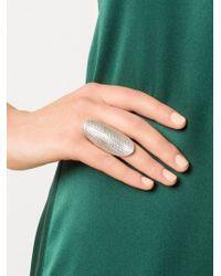 Venyx | Metallic 'conda' Ring | Lyst