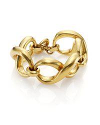 Vaubel | Metallic Infinity Link Bracelet | Lyst