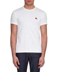 Burberry Brit White Tunworth Cotton T-shirt for men