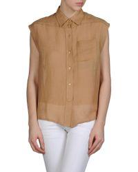 Chloé - Brown Shirt - Lyst