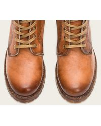 Frye - Brown Sabrina 6g Lace Up - Lyst