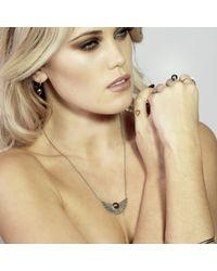 Lee Renee - Metallic Cathy Pearl Necklace - Lyst
