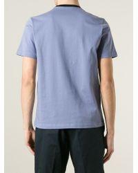 Marni | Blue Round Neck T-Shirt for Men | Lyst