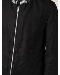 Ann Demeulemeester | Black Zipped Jacket for Men | Lyst