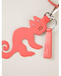 Jil Sander Navy - Orange Cat Pendant Necklace - Lyst