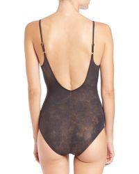Gottex Multicolor One-piece Metallic Underwire Swimsuit