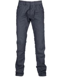 Emporio Armani Gray Slim Fit Jeans for men
