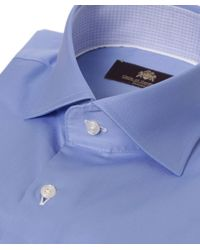 Circle Of Gentlemen Blue Thurman Shirt for men