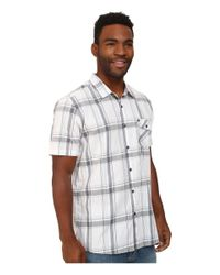 Rip Curl | White Los Molinos Short Sleeve Shirt for Men | Lyst