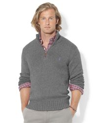 Polo Ralph Lauren | Gray Cotton Crew-neck Sweatshirt for Men | Lyst