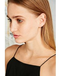 Urban Outfitters - Metallic Double Row Ear Cuff - Lyst
