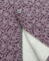 Ted Baker | Purple Floral Print Shirt for Men | Lyst
