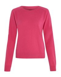 2nd Day Pink Cashmere Knitted Zuky Jumper