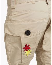 DSquared² - Natural Halia Icon Pants - Lyst