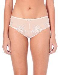 Simone Perele | Pink Backstage Mesh Shorts, Women's, Size: S, Dark Salmon | Lyst