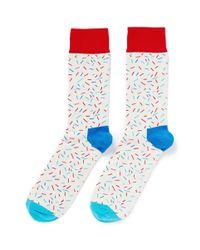Happy Socks   Multicolor Sprinkle Socks for Men   Lyst