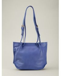 Vivienne Westwood - Blue Maddox Leather Shoulder Bag - Lyst