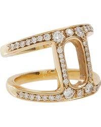 Hoorsenbuhs | Metallic Diamond Gold Dame Phantom Ii Ring | Lyst