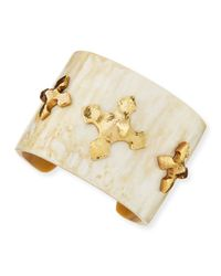Ashley Pittman | Metallic Tani Cuff | Lyst