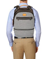 Tumi Gray Cannon Backpack for men