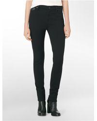 Calvin Klein   Black Jeans 5-pocket Ponte Leggings   Lyst