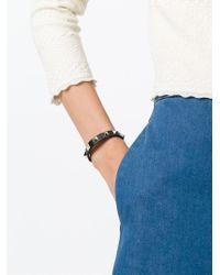 Valentino | Black Garavani 'rockstud' Bracelet | Lyst
