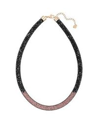 Swarovski - Multicolor Stardust Gradient Necklace - Lyst