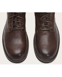 Frye - Brown Freemont Lace Up for Men - Lyst