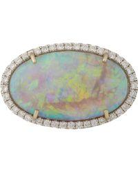 Irene Neuwirth White Gemstone Ring-Colorless