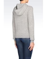 Armani Jeans | Gray Cardigan | Lyst