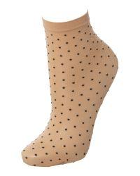Wolford | Black Daria Ankle Socks | Lyst