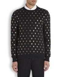 Markus Lupfer - Black Skull Print Cotton Sweatshirt for Men - Lyst
