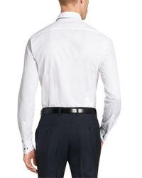 BOSS White 'jaiden' | Slim Fit, Italian Cotton Dress Shirt for men