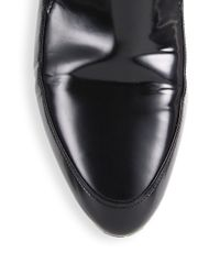 3.1 Phillip Lim Black Louie Leather Loafers