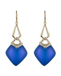 Alexis Bittar | Blue Encrusted Infinity Link Earring You Might Also Like | Lyst